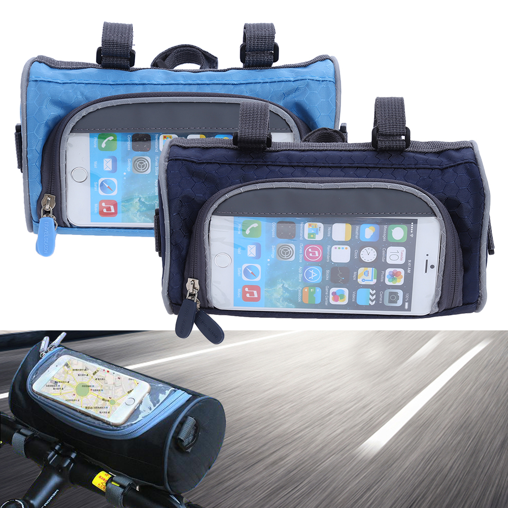 1Pcs Bicycle Bag Bike Multi FunctionTouch Screen Pouch For Phone Mountain Bike Leading Bags Cycling Bicycle Accessories