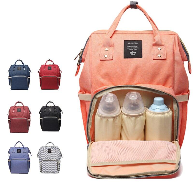 Venta al por mayor, bolsa de pañales de maternidad para mamá, bolsa de viaje de gran capacidad para mamá, mochila de diseño, una bolsa para regalo de madre