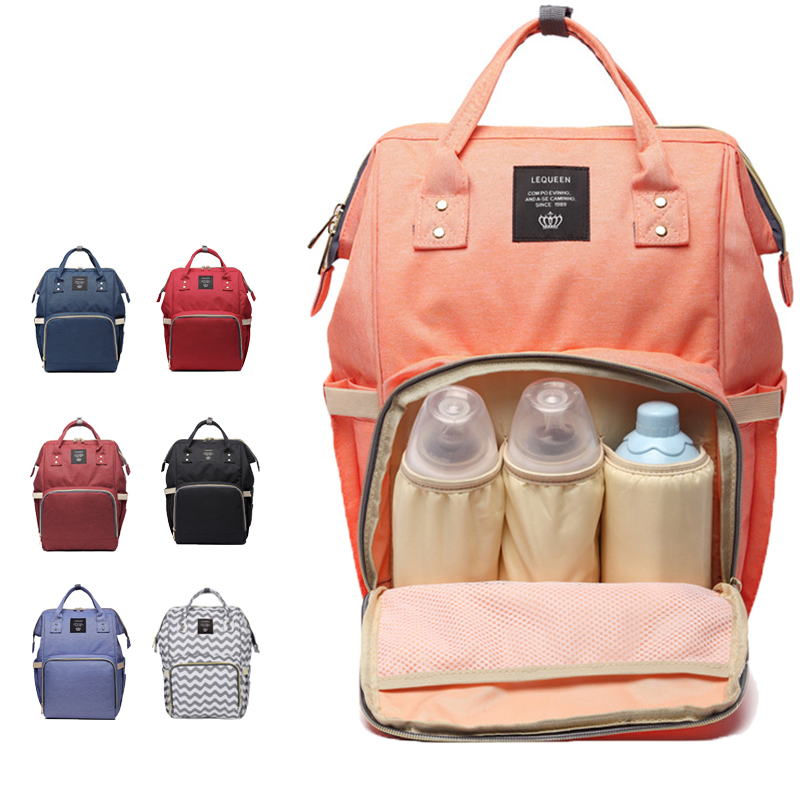 Wholesale Fashion Diaper Bag Mummy Maternity Nappy Bag For Mother Large Capacity Travel Backpack Designer A Bag For Mother Gift