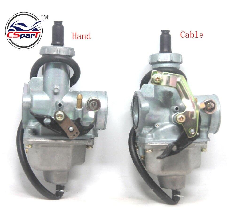26MM 27MM 30MM Carb Hand Cable Chock PZ26 PZ27 PZ30 125CC 150CC 200CC 250CC Dirt Pit bike ATV Quad Carburetor цена