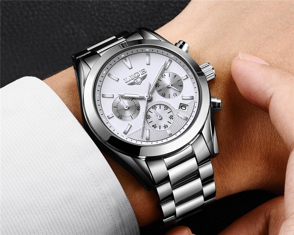 23LIGE Watches 9872