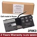 KingSener Korea Cell New 2F8K3 Laptop Battery for DELL Alienware 17 18(ALW18D-1788) M18X M17X R5 2F8K3 0KJ2PX G33TT 14.8V 86WH