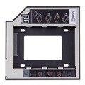 1 unid Negro 9.5mm Universale secondo SATA HDD DISCO Duro SSD Caddy con 4 tornillos Para CD/DVD-ROM Bay Optical