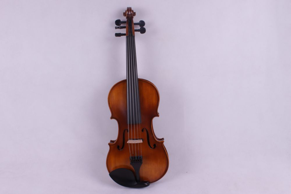 dark  old violin  color 5  string 4/4 Violin Electric Violin Acoustic Violin Maple wood Spruce wood Big jack    color 4 4 electric violin solid wood 6 18 silvery dark blue color 4 string