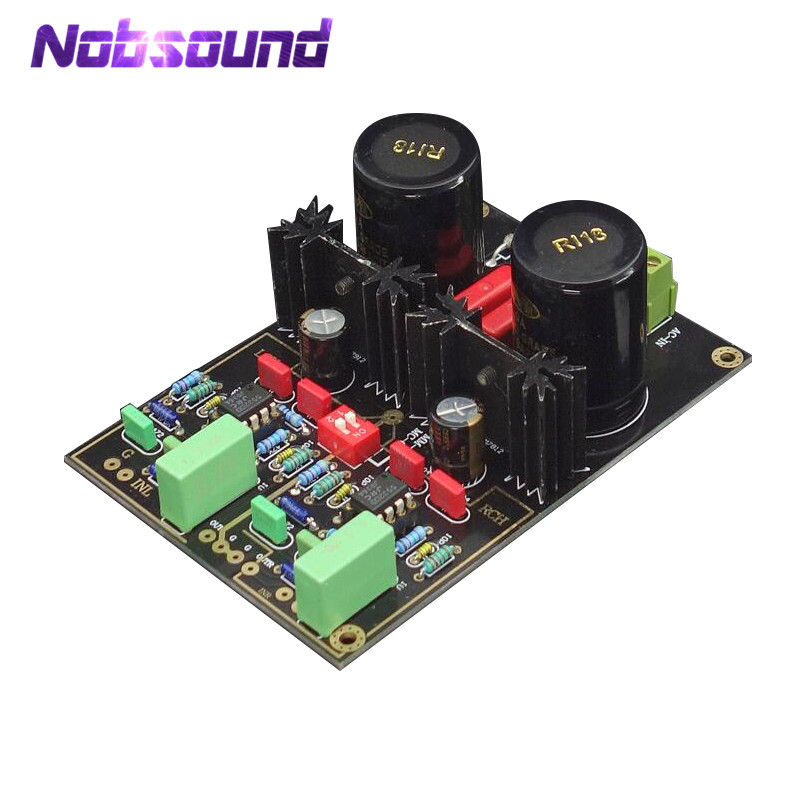 Nobsound Hi-Fi Germany DUAL Phono Turntable Preamp Moving Magnet MM / MCLP Vinyl Preamplifier Board