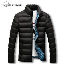2019 Winter Men Jacket Brand Casual Homme Warm Coat Mens Jackets Coats Thick Parkas Soft Outwear Plus Size Male Clothing YN10505 цена