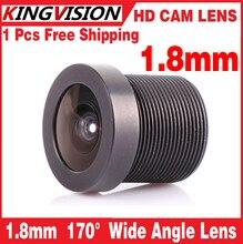 Placa de Montagem da lente 1.8mm 170 Graus Wide Angle CCTV Conselho IR Camera Lens