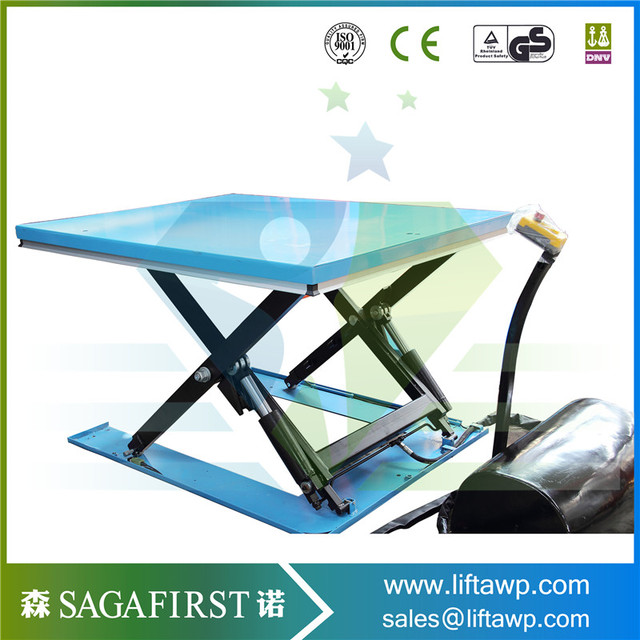 Stationary Upright Scissor Lift Warehouse Cargo Lift With CE -in Car ...