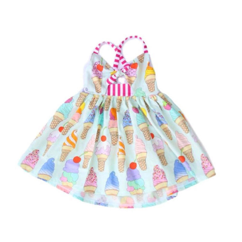 c403627b5516 Detail Feedback Questions about Casual Toddler Kids Icecream Dress ...