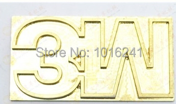 Hot Stamping Copper Mold 5x7cm Custom Design Embossing Die Mould for Leather wood paper