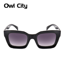 Luxury Rectangle Sunglasses Women Designer  Frame