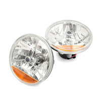 2Pcs 7 Inch LED Headlight Work Light For Chevy Ford Mopar Led Daytime Running Lights Truck
