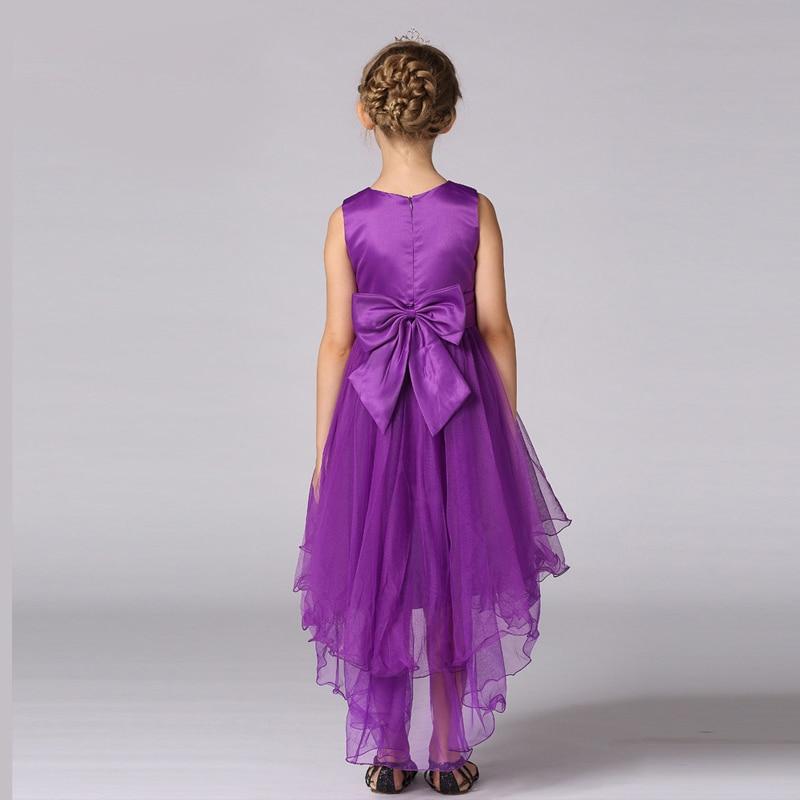 Muchachas de la manera azul marino vestidos de niña de 11 años ...