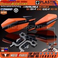 KTM Motorcycle Motorcross Supermoto Handlebar Handguards Hand Guard Fit SMR LC SXF EXC 125 250 300