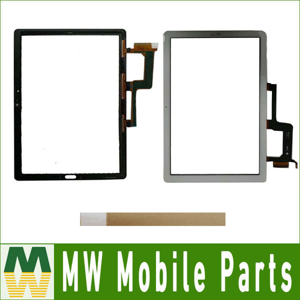 10.1For Huawei MediaPad M5 Lite 10 BAH2 L09 BAH2 L09C BACH2 L09C BACH2 W19C Touch Screen Outer Glass Black White Gold With Tape
