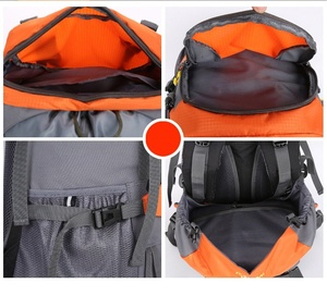 Image 5 - KOKOCAT New 60L Hiking Backpack Sports Outdoor Backpack Mountaineering Bag with Rain Cover Travel Backpack