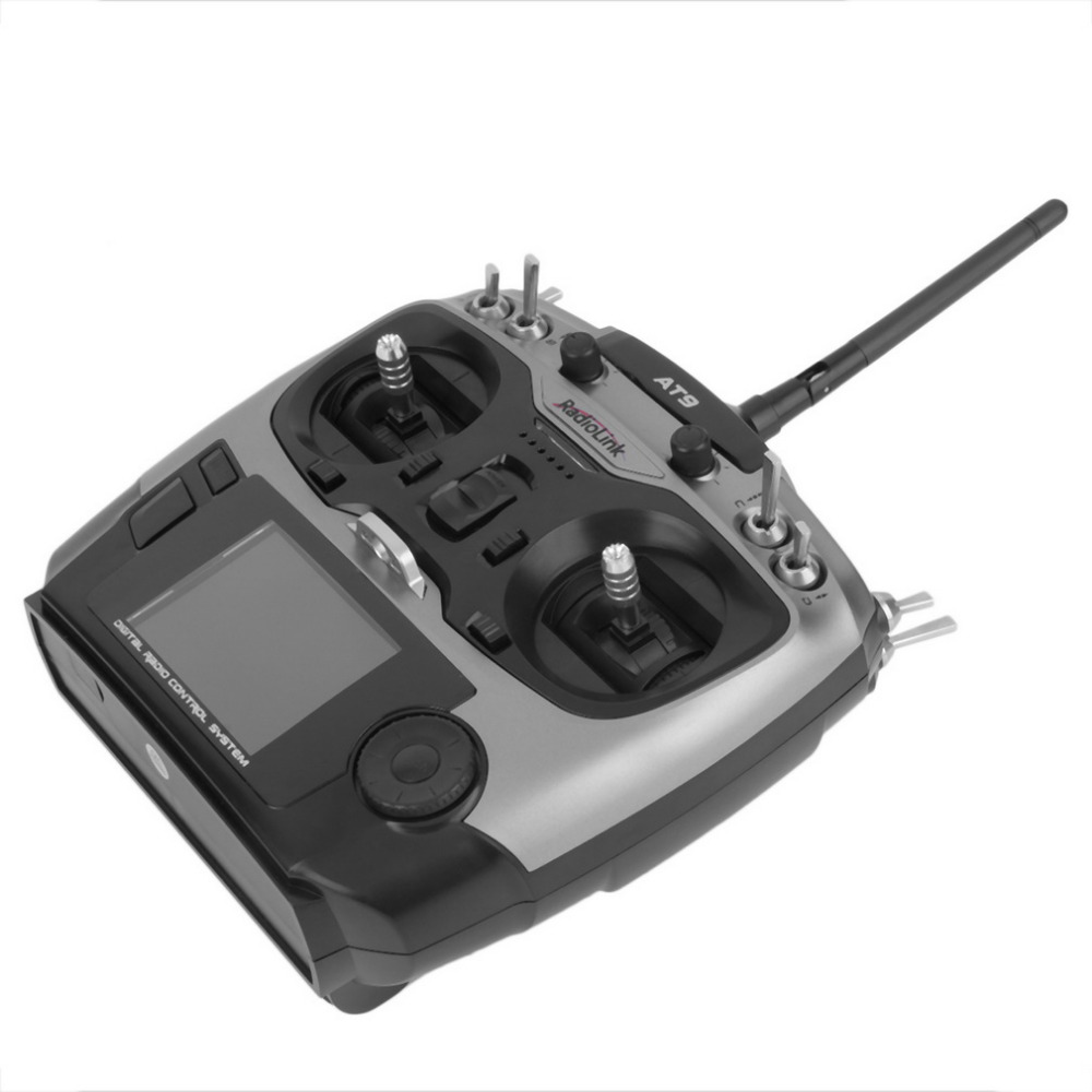 Radiolink AT9 2 4GHz 9 Channel Transmitter Radio Receiver TX RX for RC Toy Helicopter RC hobby parts in Parts Accessories from Toys Hobbies