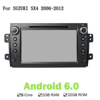 2 Din Android 6 0 Eight Core Car CD DVD Player GPS Navigation Auto Stereo Multimedia