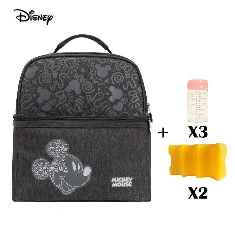 High Grand Disney Insulated Keep Warm Feeding Nursing Bottle Bag Keep Fruits Cool Diaper Bag Portable