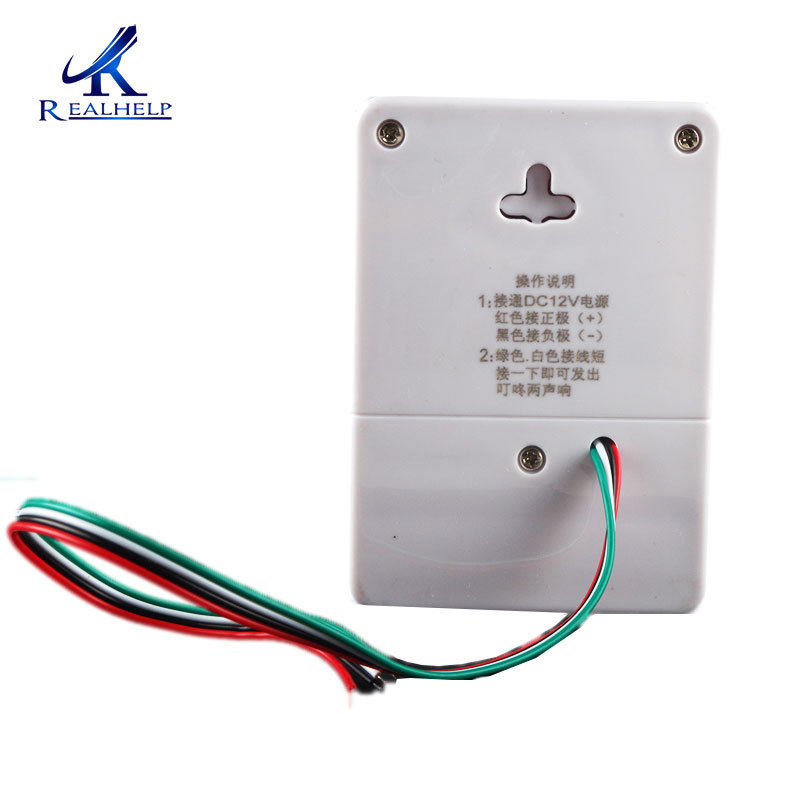 12V DC Exrternal Wired Access Control Doorbell Wire Doorbell NO Need Wiring A Doorbell on 2 bells wiring for doorbell, wiring multiple doorbells, repair a doorbell, wiring switch, wiring light, household wiring doorbell, wiring smoke detectors, wiring ceiling fan,