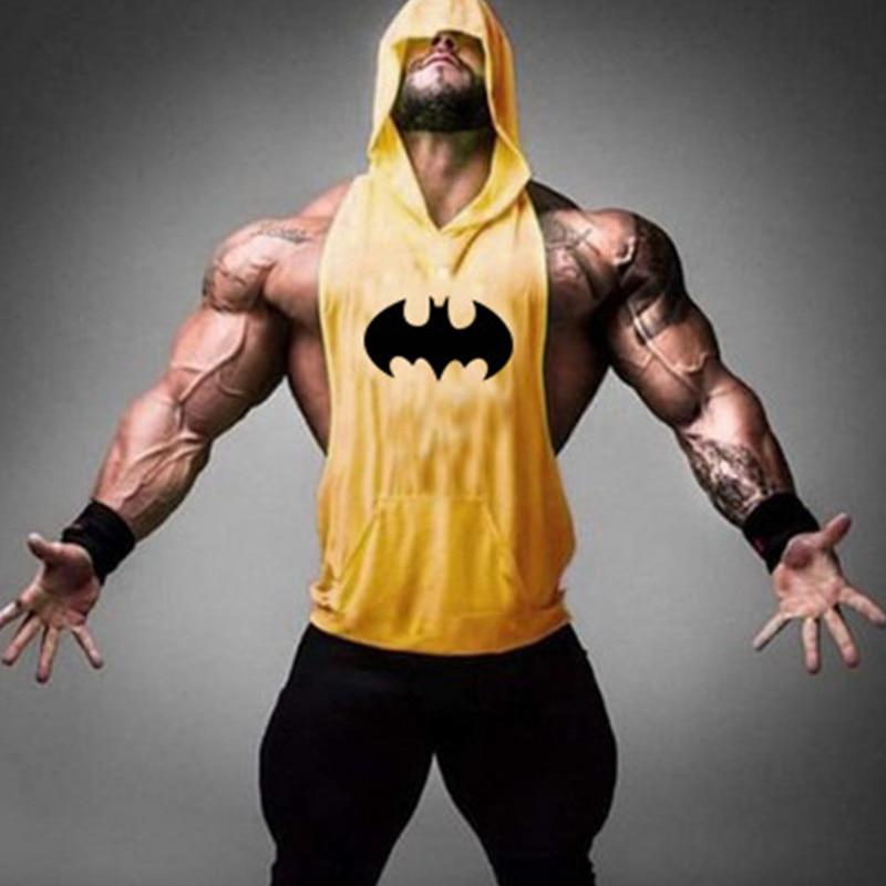 Batman Sleeveless Hoodie