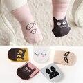 Bebê recém-nascido Infantil Anti-Slip Animal Bebê Meias com Sola De Borracha para o Bebê Do Bebê Da Menina Do Menino Meias de Presente