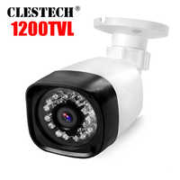 Full HD 1200TVL Cmos CCTV Security Surveillance HD Mini Camera ircut infrared 24LED 30m NightVision Waterproof IP66 Color vidico