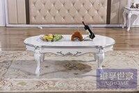 Новая классическая чайный столик. Европейском стиле из массива дерева чайный столик .. Книги по искусству роспись мебели.