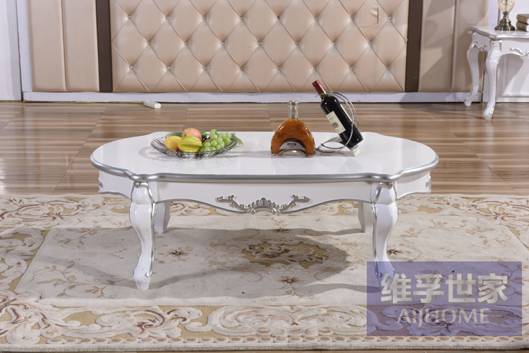 New classical tea table. European-style solid wood tea table.. Art painting the furniture. coffee wenge wood furniture ming and qing classical mahogany tea table tea table tea table tea tables cooker