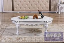 цена New classical tea table. European-style solid wood tea table.. Art painting the furniture.  онлайн в 2017 году