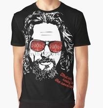 All Over Print T-Shirt Men Funy tshirt The Big Lebowski The Dude Short  Sleeve 4e421dbb5104