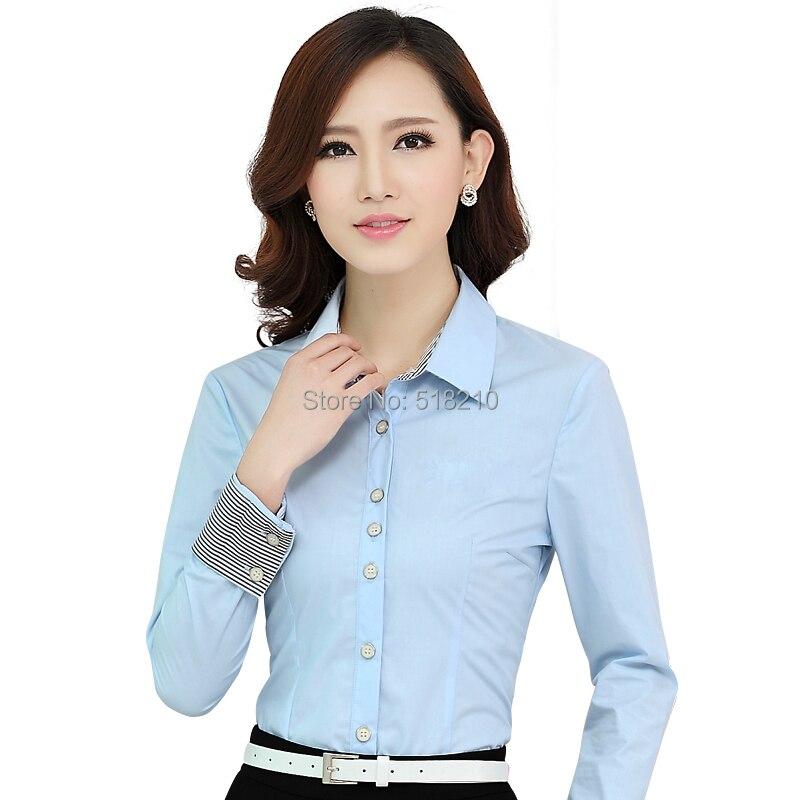 Compra Uniformes de oficina para damas blusa formal online al por ...