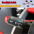 Car Headlight Switches Wiper Switch Button Trim Cover For MERCEDES BENZ SMART