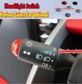 Carro botão interruptor do limpador de farol guarnição capa para MERCEDES BENZ inteligente