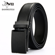 [DWTS]Designer Belts Men High Quality Leather Strap Male Belt Automati