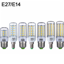 E27 LED Lamp E14 LED Bulb SMD5730 220V Corn Bulb 24 36 48 56 69 72 LEDs Chandelier Candle LED Light For Home Decoration Ampoule e27 led bulb e14 led lamp ac 220v 240v corn candle lamp 24 36 48 56 69 72 leds chandlier lighting for home decoration led lights