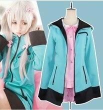 New Japanese Anime Eromanga Sensei Izumi Sagiri Cosplay Costume Coat+Pajamas+Bowknot Halloween Costumes for Women S-XL anime katekyo hitman reborn cosplay costumes izumi sagiri japan kimono bathrobe