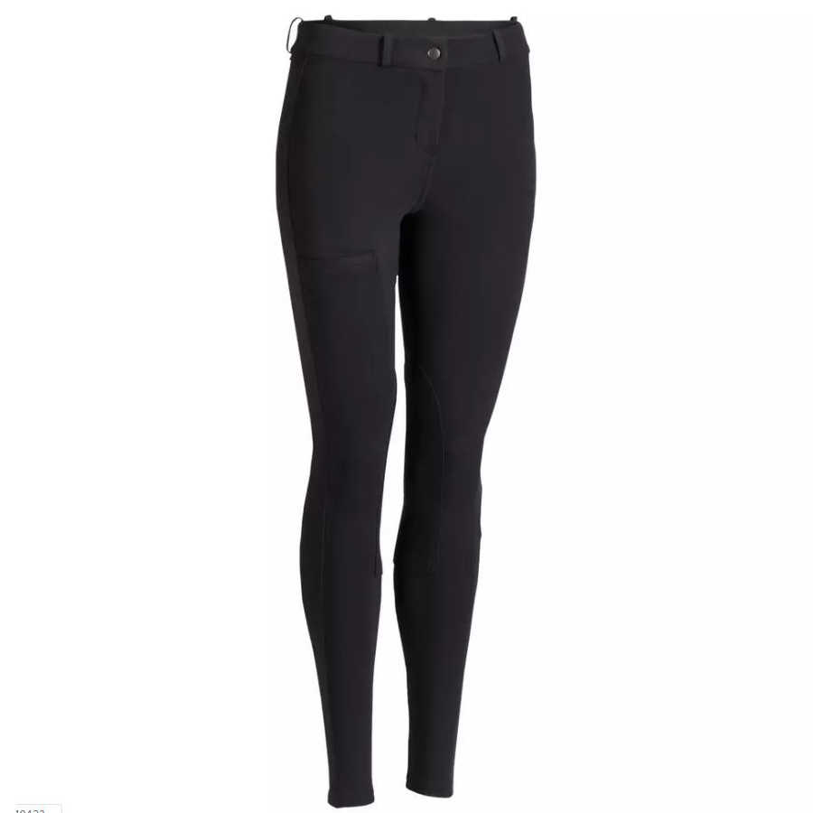 2019NEW Women Equestrian Breeches Women Soft Breathable SkinnyTight Horse Riding Pants Horse Riding Schooling Chaps Black Brown
