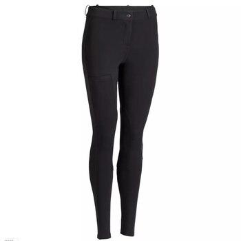 ¡Novedad De 2019! Pantalones Ecuestres Para Mujer, Pantalones De Montar A Caballo SkinnyTight Transpirables Suaves Para Mujer, Chales Escolares De Equitación, Negro Y Marrón