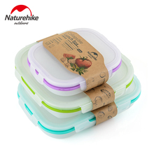 Naturhike New Ultralight Outdoor Camping High Quality Portable Pans Bowls Environmentally Reusable Food Container
