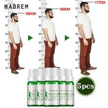 5 pces mabrem altura crescente óleo essencial condicionado corpo crescer mais alto óleo essencial calmante pé saúde propot crescimento do osso