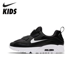 NIKE AIR MAX TINY 90 Kids Shoes New Arrival  Breathable Sports Children's Running Shoes Comfortable Sneakers #881927-007