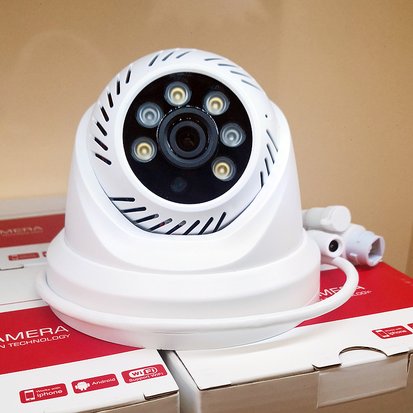H.264 1080P WIFI indoor Smart IP Camera TF Card double Light Onvif Support Hikvison & Dahua NVR P2P WIFI Camera
