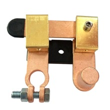 Latón Horizontal Cuchillo Interruptor Interruptor de Alimentación Aplicable a Negativo de La Batería Batería Del Coche A Prueba de Fugas Head 15.5-17 MM