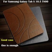 Kk clásico británico imán smart case para samsung galaxy tab s 10.5 pulgadas t800/t801/t805 tablet case cubierta del tirón