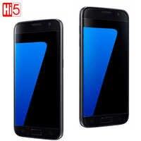 "Original desbloqueado Samsung Galaxy S7 G930F/S7 borde G935F LTE Octa Core 5,1 ""12MP 4G 32G teléfono móvil ROM GSM Android S7"