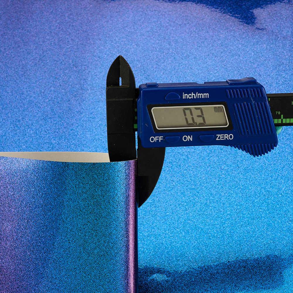 Parlak araba çıkartmaları PVC vinil yapışkan otomobil vücut dekorasyon araba sarma filmleri 20/30/50/60CM X 1.52M