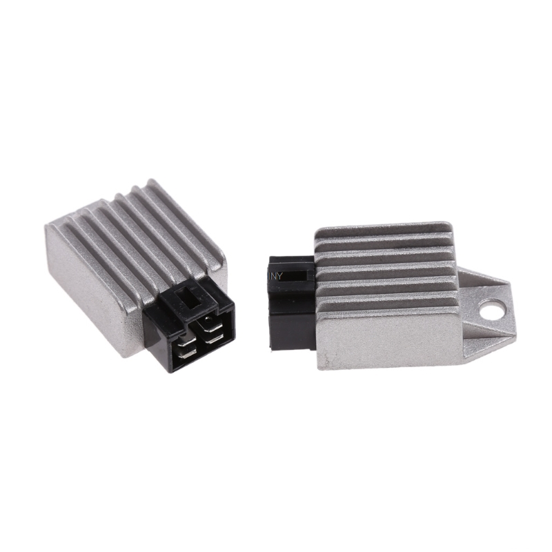 1 Pair Gy6 50cc 125cc 150cc Voltage Regulator Rectifier 12v 4pin Moped Scooter Atv Iny Good Reputation Over The World