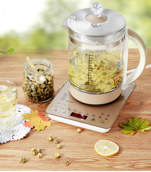 Health pot thickened glass full automatic Chinese medicine split boiling teapot