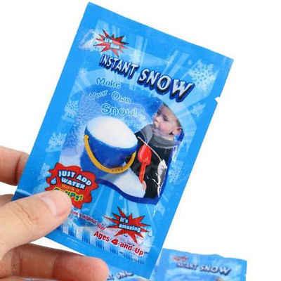 Ma thuật Tuyết Nhân Tạo Tuyết Tức Thì Fluffy Absorbant Snowflack Giáng Sinh Trang Trí Trang Trí Đám Cưới Bán Nóng Giáng Sinh Sáng Tạo